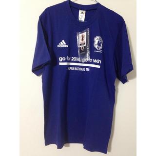 アディダス(adidas)のadidas JFA JAPAN Tシャツ L(応援グッズ)