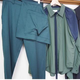 シセ(Sise)のSISE シャツ パンツ ポケットベルト 3点セット シセ(シャツ)