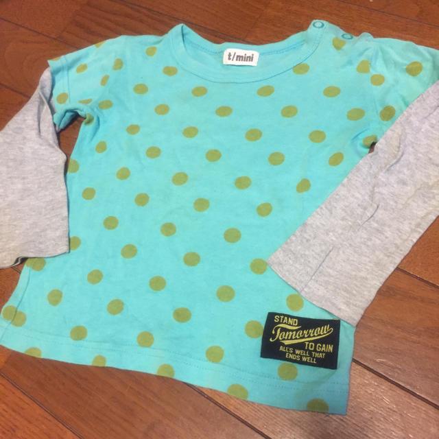 t/mini(ターカーミニ)のターカーミニ 90㎝ キッズ/ベビー/マタニティのキッズ服 男の子用(90cm~)(Tシャツ/カットソー)の商品写真