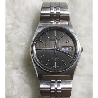 セイコー(SEIKO)のセイコー タイプ2 7546-7050 サファイアガラス☆新品電池☆完動品(腕時計(アナログ))