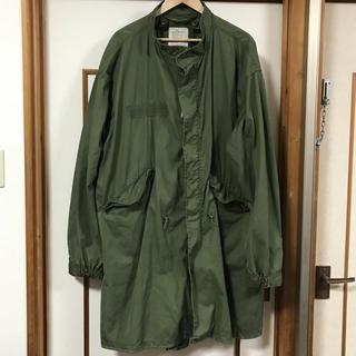 m-65 フィッシュテール 古着 vintage モッズコート(ミリタリージャケット)