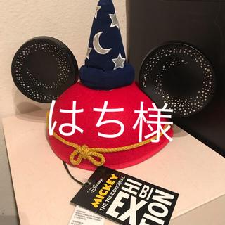 ディズニー(Disney)の【アメリカ限定】魔法使いミッキー♡イヤーハット(キャップ)