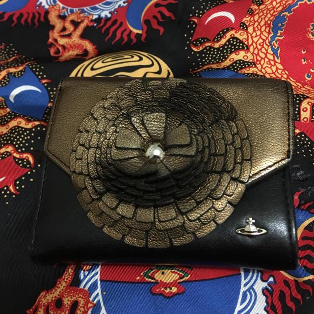 Vivienne Westwood(ヴィヴィアンウエストウッド)の ヴィヴィアン 折財布 ブラウン リッチモンド  レディースのファッション小物(財布)の商品写真