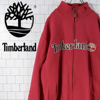 ティンバーランド(Timberland)の【激レア】ティンバーランド 刺繍ロゴ ロゴタグ フルジップ スウェット 90s(スウェット)