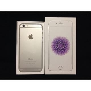 アップル(Apple)のau iPhone6 64GB シルバー【新品 残債無 制限○】(スマートフォン本体)