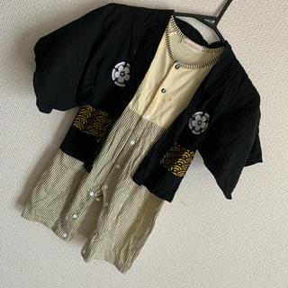 男の子袴ロンパース  95cm(和服/着物)