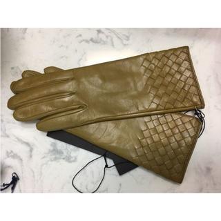 ボッテガヴェネタ(Bottega Veneta)の国内正規品 オフシーズンセール ボッテガ ラム手袋(手袋)