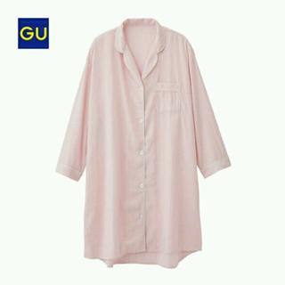 ジーユー(GU)のGU パジャマ ラウンジシャツワンピース(パジャマ)
