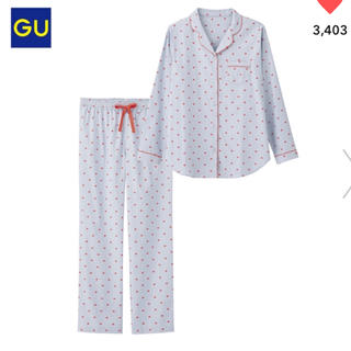ジーユー(GU)のGU パジャマ ハート(パジャマ)