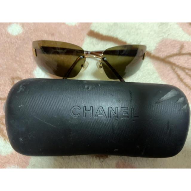 42dfaa5fbe0e CHANEL(シャネル)の中古品 シャネル サングラス💕 レディースのファッション小物(サングラス