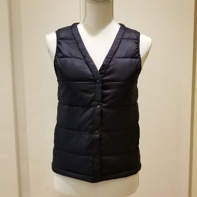 GU(ジーユー)の新品☆GUダウンファーベスト レディースのジャケット/アウター(ダウンベスト)の商品写真