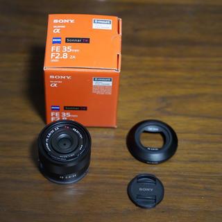 ソニー(SONY)のSEL35F28Z レンズ保護フィルター付きSONYフルサイズ対応単焦点レンズ (レンズ(単焦点))