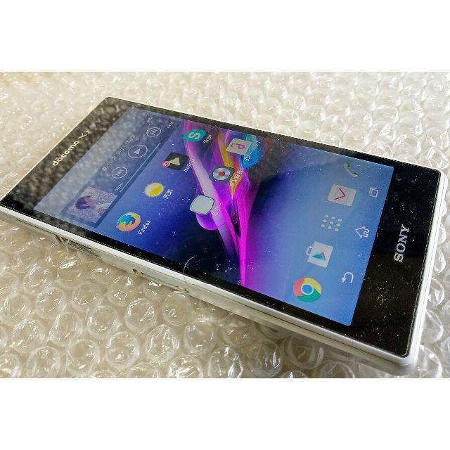 Xperia Z1 SO-01F docomo スマホ/家電/カメラのスマートフォン/携帯電話(スマートフォン本体)の商品写真