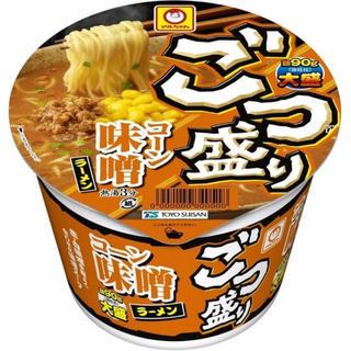 【まとめ買い】 カップ麺 ごつ盛り コーン味噌ラーメン 138g×12個(インスタント食品)