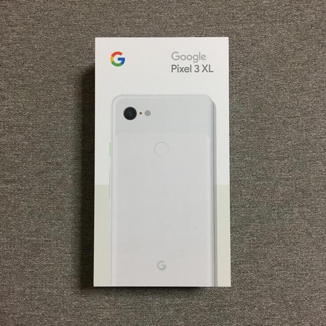 新品 Pixel3 XL 64GB SIMフリー ホワイト スマホ/家電/カメラのスマートフォン/携帯電話(スマートフォン本体)の商品写真