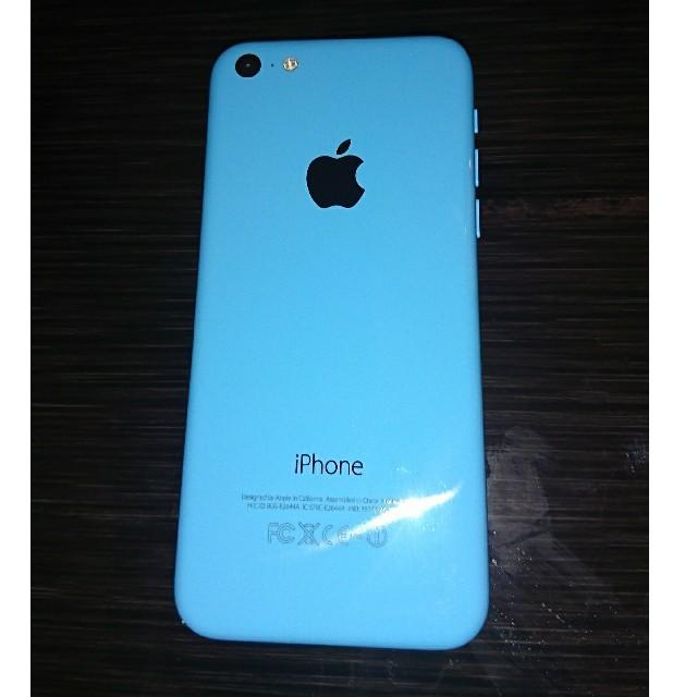 iPhone(アイフォーン)のSoftbank iphone5C ブルー 動作確認済 ソフトバンク スマホ/家電/カメラのスマートフォン/携帯電話(スマートフォン本体)の商品写真