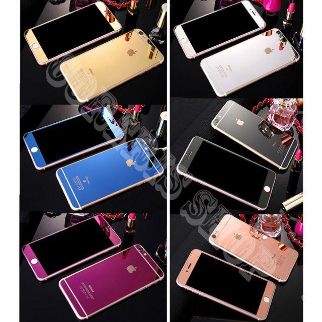 (前後)鏡面強化ガラス保護フィルム スマホ/家電/カメラのスマートフォン/携帯電話(スマートフォン本体)の商品写真