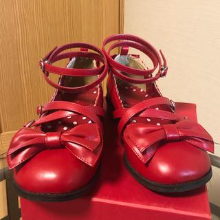 アンジェリックプリティー(Angelic Pretty)のアンジェリックプリティ Tea Party Shoes お茶会シューズ(ローファー/革靴)