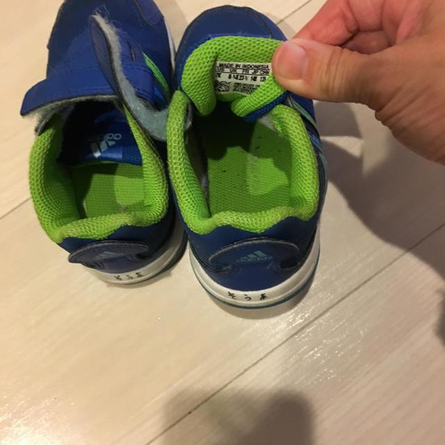 adidas(アディダス)のアディダス14センチ キッズ/ベビー/マタニティのベビー靴/シューズ(~14cm)(スニーカー)の商品写真