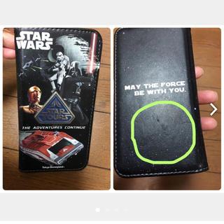 ディズニー(Disney)の中古携帯電話ケース 吸盤でスライドタイプTDLスターウォーズ(モバイルケース/カバー)