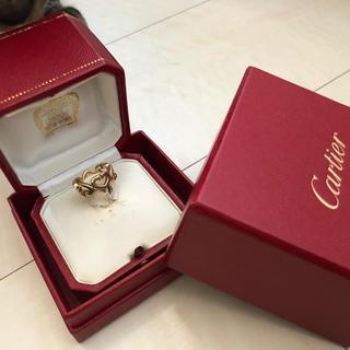 カルティエ(Cartier)のカルティエ Cハートリング(リング(指輪))