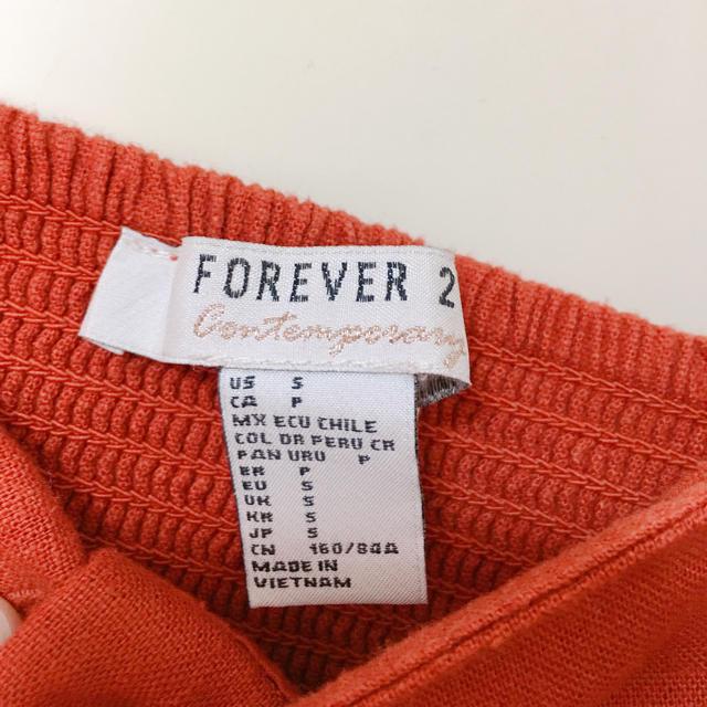 FOREVER 21(フォーエバートゥエンティーワン)のGW限定値下げ♡キャミワンピ 赤 レディースのワンピース(ミニワンピース)の商品写真