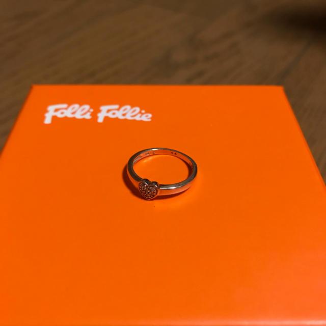 Folli Follie(フォリフォリ)のFolliFolli フォリフォリ ピンキーリング ピンクゴールド レディースのアクセサリー(リング(指輪))の商品写真
