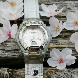 ベビージー(Baby-G)のカシオベビーG  桜色の風防 プロテクター付き(腕時計)