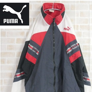 vintage 90s PUMA Jacke retro oldschool braun jacket 90er M Skisport & Snowboarding