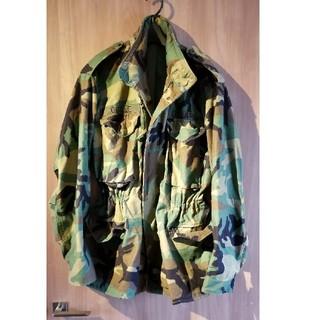 フィアオブゴッド(FEAR OF GOD)のU.S.ARMY GOBLE部隊刺繍入り フード付きミリタリージャケット(ミリタリージャケット)
