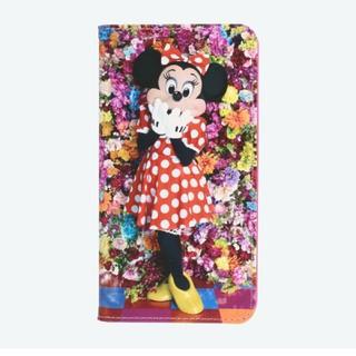 ディズニー(Disney)のスマホケース イマジニングザマジック 蜷川実花 ミニーマウス ディズニーランド(モバイルケース/カバー)