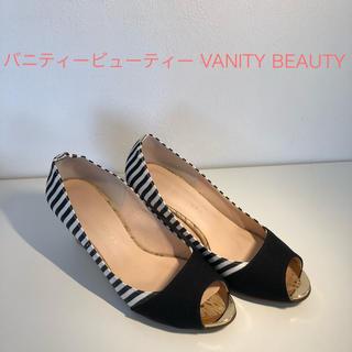 バニティービューティー(vanitybeauty)のバニティービューティー VANITY BEAUTY オープントゥウェッジサンダル(サンダル)
