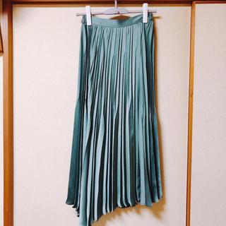 フレイアイディー(FRAY I.D)の2019ss FRAY I.D フレイアイディー サテンプリーツスカート(ロングスカート)