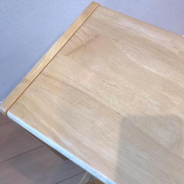 幼児の机&椅子セット インテリア/住まい/日用品の机/テーブル(学習机)の商品写真