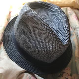 ネクスト(NEXT)のストローハット 麦わら帽子 サイズM 美品(ハット)