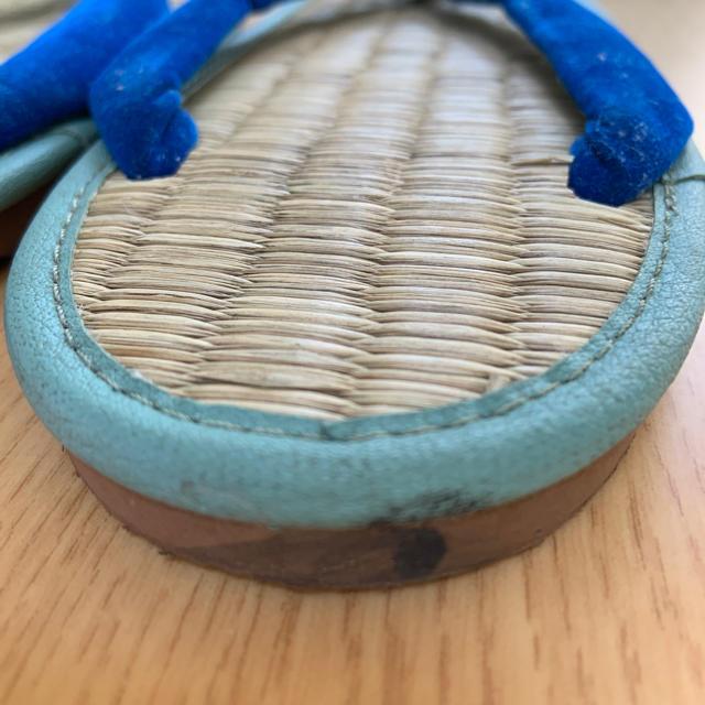 ミサトっ子 ぞうり22cm キッズ/ベビー/マタニティのキッズ靴/シューズ (15cm~)(下駄/草履)の商品写真