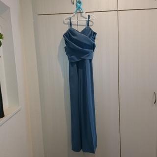 ラグナムーン(LagunaMoon)のクロスベアパンツドレス S パンツドレス セット ラグナムーン LADY (その他ドレス)