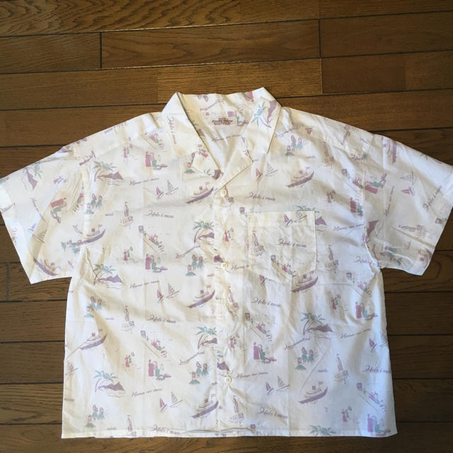 DOUBLE NAME(ダブルネーム)のDOUBLE NAME ダブルネーム アロハシャツ レディースのトップス(Tシャツ(半袖/袖なし))の商品写真