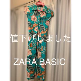 ザラ(ZARA)のZARA BASIC ワンピース(ミディアムドレス)
