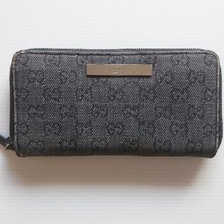 0295b0831191 グッチ(Gucci)のジュンジュン様 専用 グッチ GUCCI 黒 デニム 長財布 ファスナー