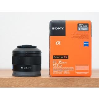 ソニー(SONY)のSONY FE35mm F2.8ZA carlzeissソニーカールツァイス(レンズ(単焦点))