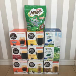 ネスレ(Nestle)のYUN8312様専用 特価★ネスカフェ ドルチェグスト 9種+ミロ(コーヒー)
