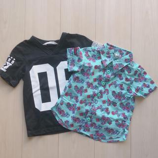 パーティーパーティー(PARTYPARTY)の【美品】キッズ服90cm 2枚セット♡(Tシャツ/カットソー)