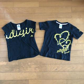 アディダス(adidas)のアディダス  Tシャツ  2枚セット  サイズ130  140(Tシャツ/カットソー)