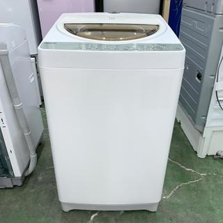 トウシバ(東芝)の⭐︎TOSHIBA⭐︎全自動洗濯機 2017年 7kg 美品 大阪市近郊配送無料(洗濯機)