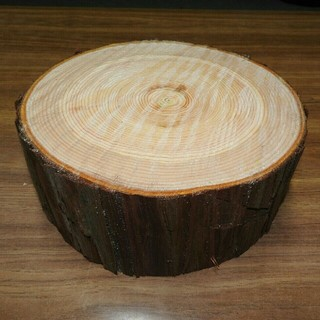 薪割り台 ひのき・東濃桧・檜 幅約23~26cm 高さ約10cm(その他)