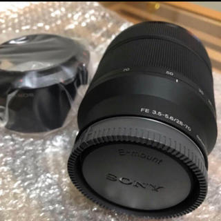 ソニー(SONY)のSONY α7 III  FE 28-70mm F3.5-5.6 OSS 新品(レンズ(ズーム))