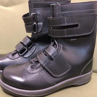 シモン simon 安全靴 (長編上靴) 7538 黒 27.0 EEE(長靴/レインシューズ)