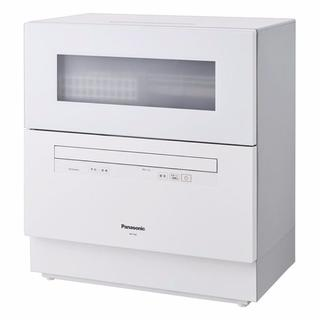 パナソニック(Panasonic)のPanasonic パナソニック NP-TH2-W 食器洗い乾燥機 新品(食器洗い機/乾燥機)