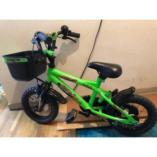 トイザラス(トイザらス)の押し手、補助輪付き自転車12インチ(自転車)